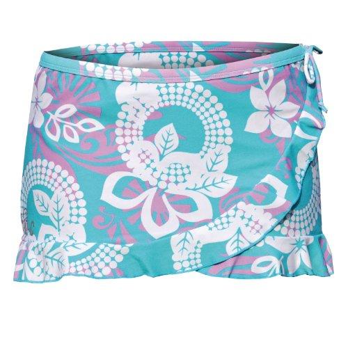 iQ-Company, Gonna Donna UV 300 Beach Skirt Ayada, Multicolore (3701_greenblue-lilac), XL