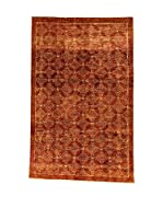 Eden Carpets Alfombra D.K Gabe Colletion Rojo/Blanco 194 x 316 cm