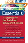 Essentials of Statistics for the Soci...