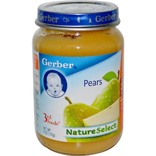 Gerber 3 FD Pears 6 OZ