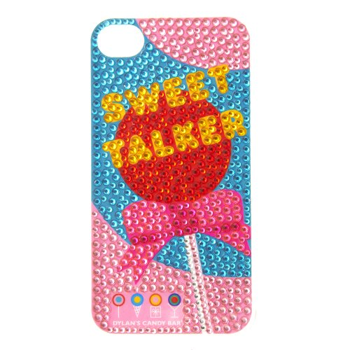 Dylan's Candy Bar Sweet Talker Embellished iPhone 4/4s Cover