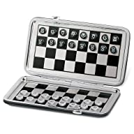 Christine 7″ Pocket Travel Magnetic Chess and Checkers Board Game Set