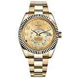 NEW Rolex Sky Dweller 18K Yellow Gold Mens watch 326938