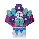 Corso's Cookies Thinking of You Flowers & Butterflies Cookie Bouquet