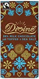Divine 38 Percent Milk Chocolate with Toffee and Sea Salt 100 g (Pack of 5)