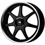 "Motegi Racing FF7 Gloss Black Wheel With Clearcoat (17x7""/5x100, 114.3mm, +42mm offset)"