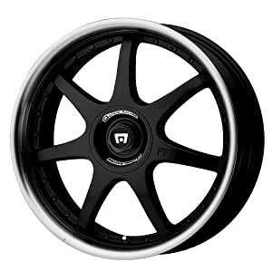 """Motegi Racing FF7 Gloss Black Wheel With Clearcoat (18x7.5""""/4x100, 114.3mm, +45mm offset)"""