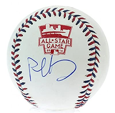 Paul Goldschmidt Autographed Arizona Diamondbacks 2014 All Star Game Baseball with Grandstand Cube Included - Certified Authentic