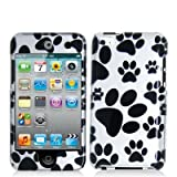 Dog Paw 2d Hard Snap-on Crystal Skin Case Cover Accessory for Ipod Touch 4th Generation 4g 4 8gb 32gb 64gb by Electromaster Reviews