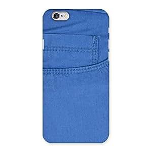 Men Royal Blue Back Case Cover for iPhone 6 6S