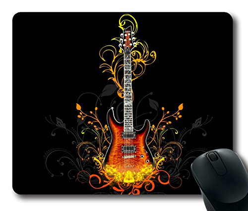 Elegant Creative_Electric Guitar Masterpiece Limited Design Oblong Mouse Pad By Cases & Mousepads