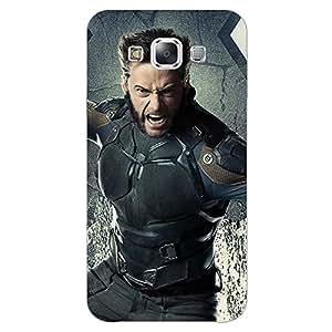 Jugaaduu Wolverine Hugh Jackman Back Cover Case For Samsung Galaxy E5