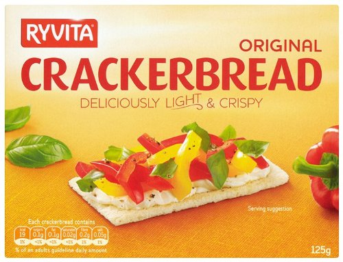 Ryvita Original Crackerbread 125 G (pack Of 12)