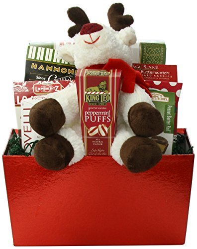 Wine Country Gift Baskets Reindeer and Sweets