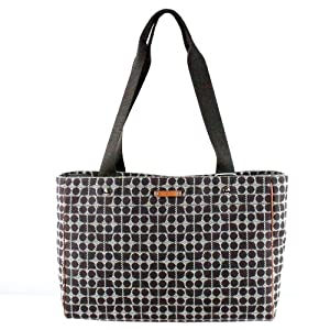 Kate Spade Victoria Dot Noel Baby Diaper Tote Brown
