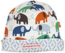 Magnificent Baby Baby-Boys Newborn Reversible Cozy Cap, Elephant/Marrakesh, One Size