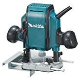 Makita RP0900K 1-1/4 Horsepower Plunge Router (Color: Teal)