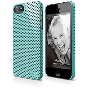 elago S5 Breathe Case for iPhone 5/5S - eco friendly Retail Packaging (Coral Blue)