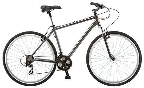 Lowest Price! Schwinn Capitol 700c Men's 18 Hybrid Bike, 18-Inch/Medium, Grey