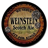 Weinstein Beer - 4 pack Rubber Drink Coasters