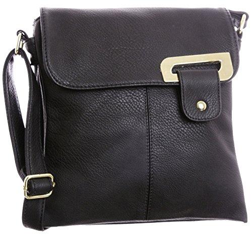 Big Handbag Shop Womens Medium Trendy Messenger