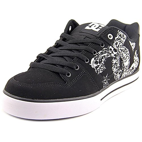 DC Men's Pure SE Black/Black/White Sneaker 11.5 D (M)