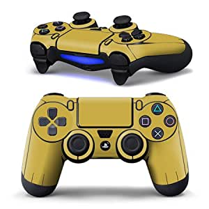 Amazon.com: iCarbons Brushed Gold Skin for XBOX One ... |Gold Xbox One Controller Skin