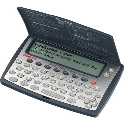 Franklin MWD-460A Merriam-Webster Dictionary and Thesaurus (Electronic Dictionary Bookmark compare prices)