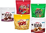 Kelloggs Cereal Variety Pack Pouches, 5 Flavor, 0.64 Ounce (Pack of 20)