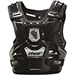 Thor MX Sentinel Protector Adult Roost Deflector Off-Road Motorcycle Body Armor - Black / One Size