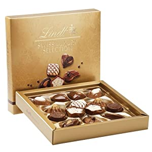 Lindt Chocolate Swiss Luxury Selection Box, 4.9 Ounce