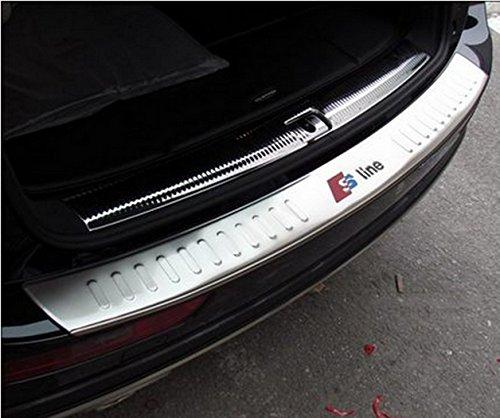 SunroadTek® Car Parts Stainless Steel Rear Bumper