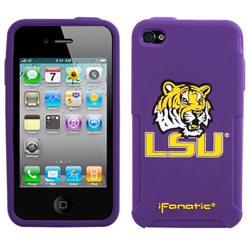 NCAA Louisiana State Fightin Tigers Mascotz Cover for iPhone 4