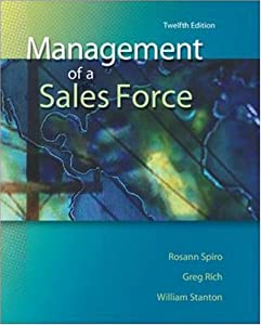 Management of a Sales Force book downloads
