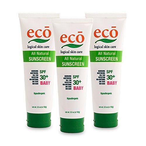 エコロジカルスキンケアサンスクリーン ベビー3本セット