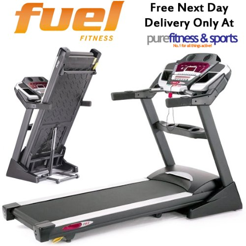 Fuel Fitness F83 Folding Motorised Treadmill