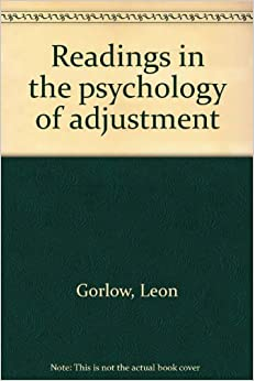Psychology of personal adjustment book