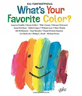 Book Cover: What's Your Favorite Color?
