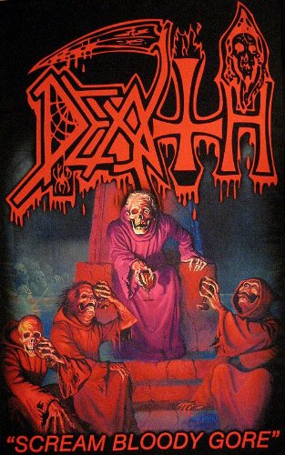 DEATH   SCREAM BLOODY GORE      Flagge/ flag
