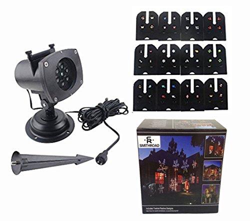 preisvergleich smithroad led projektionslampe 12 verschiedene muster willbilliger. Black Bedroom Furniture Sets. Home Design Ideas