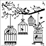 The Crafters Workshop 6x6 Template: Birds Of A Feather