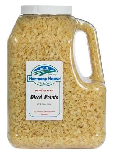 Harmony House Foods, Dehydrated Potatoes (50 Oz, Gallon Size Jug)