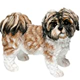 Decorative Shih Tzu Dog Ornament (Brown)