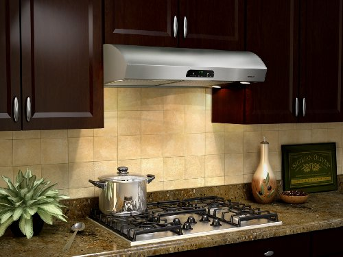 "Nutone Qp442Ss 42"", Stainless Steel, Under Cabinet Hood, 630 Cfm"
