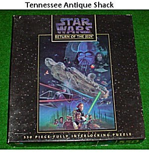 Milton Bradley Star Wars RETURN OF THE JEDI 550 Pieces Fully Interlocking Puzzle (B001LYLH42)