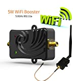 WiFi Signal Booster 5.8Ghz 802.11 Signal Extender WiFi Repeater Broadband Amplifiers Wireless Router 5dBi Antenna (Color: 5.8GHz)