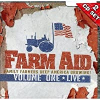 Farm Aid Volume ONE Live 2 Cd Set