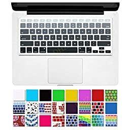DHZ® Grey Ombre Colors Keyboard Cover Silicone Skin for MacBook Pro 13\