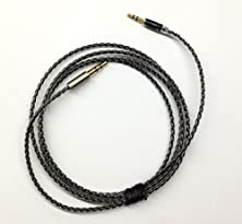 buy 1.2M New Ptfe Silver Plated Copper Audio Upgrade Cable For B&W Bowers & Wilkins P5 Headphone