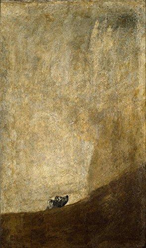 oil-painting-goya-y-lucientes-francisco-de-dog-half-submerged-1821-23-printing-on-high-quality-polys